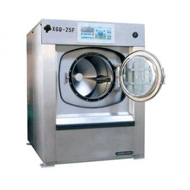 Drum Hotel Laundry Washing Machines , Washing Machine For Hotel Use Compact Design
