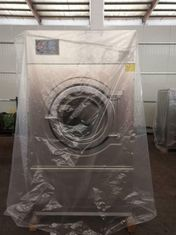 Gas Dryer Industrial Laundry Machine Touch Screen Colorful Display Stainless Steel Drum